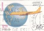 Stamps Spain -  UPAEP- TRANSPORTE POSTAL (11)
