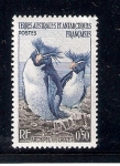 Sellos de Europa - Territorios Antárticos Franceses -  Archipiélago de Crozet, pingüinos,Eudyptes crestatus