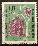 Sellos de Europa - Alemania -  Exposicion de sellos de Flora y Filatelia y IGA 63 en Hamburgo.