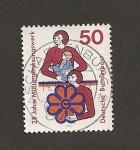 Sellos de Europa - Alemania -  28 años Fundación Madres Convalecientes