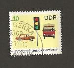 Stamps Germany -  Siempre orientación por la derecha