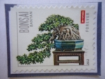 Stamps United States -  Bonsai - Banyan -Forever