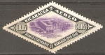 Stamps : America : Nicaragua :  PROYECTADO  SEMINARIO  PROVINCIAL.  PRIMER  CENTENARIO  DE  MANAGUA.