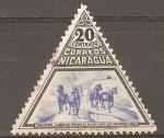 Stamps : America : Nicaragua :  CABALLOS  DE  RAZA