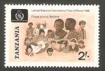 Stamps Tanzania -  Paz entre la Naciones