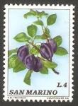 Sellos de Europa - San Marino -  Frutos