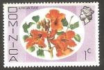 Sellos de America - Dominica -  Flor