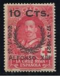 Stamps Spain -  ESPAÑA 375 XXV ANIVERSARIO DE LA CORONACION DE ALFONSO XIII