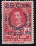 Sellos de Europa - España -  ESPAÑA 376 XXV ANIVERSARIO DE LA CORONACION DE ALFONSO XIII