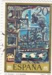 Stamps Spain -  LOS PICHONES (PICASSO) (11)