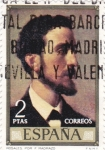Stamps of the world : Spain :  ROSALES POR MADRAZO (11)