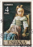 Stamps of the world : Spain :  NENA (ROSALES)  (11)