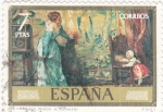 Stamps of the world : Spain :  LOS PRIMEROS PASOS (ROSALES)  (11)