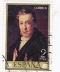 Stamps Spain -  AUTORETRATO (VICENTE LÓPEZ) (11)