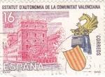 Sellos de Europa - España -  ESTATUT D'AUTONOMÍA DE LA COMUNITAT VALENCIANA (11)