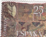 Stamps of the world : Spain :  TAPIZ DE LA CREACIÓN- GIRONA  (11)