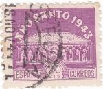 Stamps Spain -  SEPULCRO -AÑO SANTO COMPOSTELANO (11)