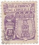 Stamps Spain -  SORIA -MILENARIO DE CASTILLA (11)