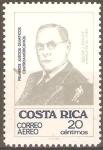 Sellos de America - Costa Rica -  PRIMEROS  JUEGOS  OLÌMPICOS  CENTROAMERICANOS.  OSCAR  J.  PINTO  F.  INSTRUCTOR  DE  FUTBOL.