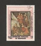 Stamps Cambodia -  500 Aniv. de Raphael, pintor