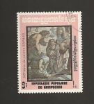 Sellos de Asia - Camboya -  500 Aniv. de Raphael, pintor