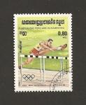 Stamps Cambodia -  XXII Juegos Olimpicos Los Angeles