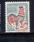Sellos de Europa - Francia -  Gallo de Decaris