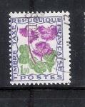 sello : Europa : Francia : Flor