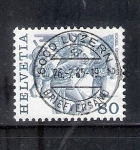 Stamps Switzerland -  Vogel Gryff Basilea