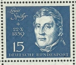 Stamps Germany -  Louis Spohr