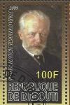 Stamps Africa - Djibouti -  Tchaikovsky