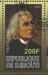 Stamps Africa - Djibouti -  Liszt