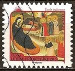 Sellos de Europa - Francia -  Carta Prioridad 20g Francia-Escuela Italiana v. 1330