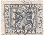 Sellos de Europa - España -  SELLO DE TELÉGRAFOS (11)