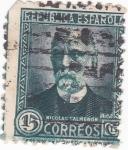 Stamps Spain -  NICOLAS SALMERÓN (11)