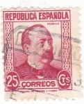 Sellos de Europa - España -  MANUEL RUIZ ZORRILLA (11)