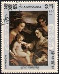 Stamps Asia - Cambodia -  Pinturas