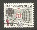 Sellos de Europa - Checoslovaquia -  2526 - 30 anivº de la televisión checoslovaca