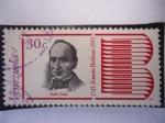 Stamps Venezuela -  Bicentenario del nacimiento de Simón Bolívar 1783-1983 - Pedro Gual.