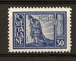 Sellos de Europa - Italia -  Egeo./ Colonia Italiana.