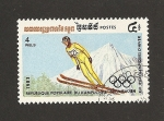 Stamps Cambodia -  XIV Juegos Olímpicos Invierno