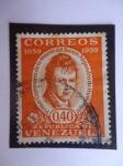 Stamps Venezuela -  Primer Centenario de la muerte del Baron Alejándro de Humboldt 1859-1959