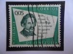 Stamps Venezuela -  Primer Centenario de la muerte de Agustín Codazzi 1859-1959