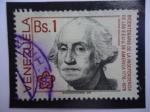 Sellos de America - Venezuela -  Bicentenario de la Independencia de los EE.UU de Améric 1776-1976