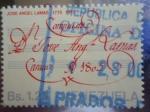 Stamps Venezuela -  Compositor, José Angel Lamas 1775-1975