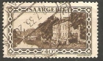 Sellos de Europa - Alemania -  Sarre - 112 - Cuartel Vauban de Sarrelouis