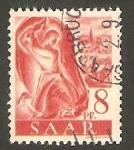 Sellos de Europa - Alemania -  Sarre  - 199 - Minero