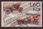 Stamps : Europe : Czechoslovakia :  Automóviles