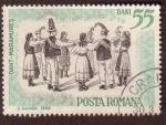 Stamps : Europe : Romania :  Dant-Maramures