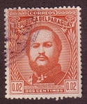 Stamps : America : Paraguay :  Mariscal Francisco Solano López